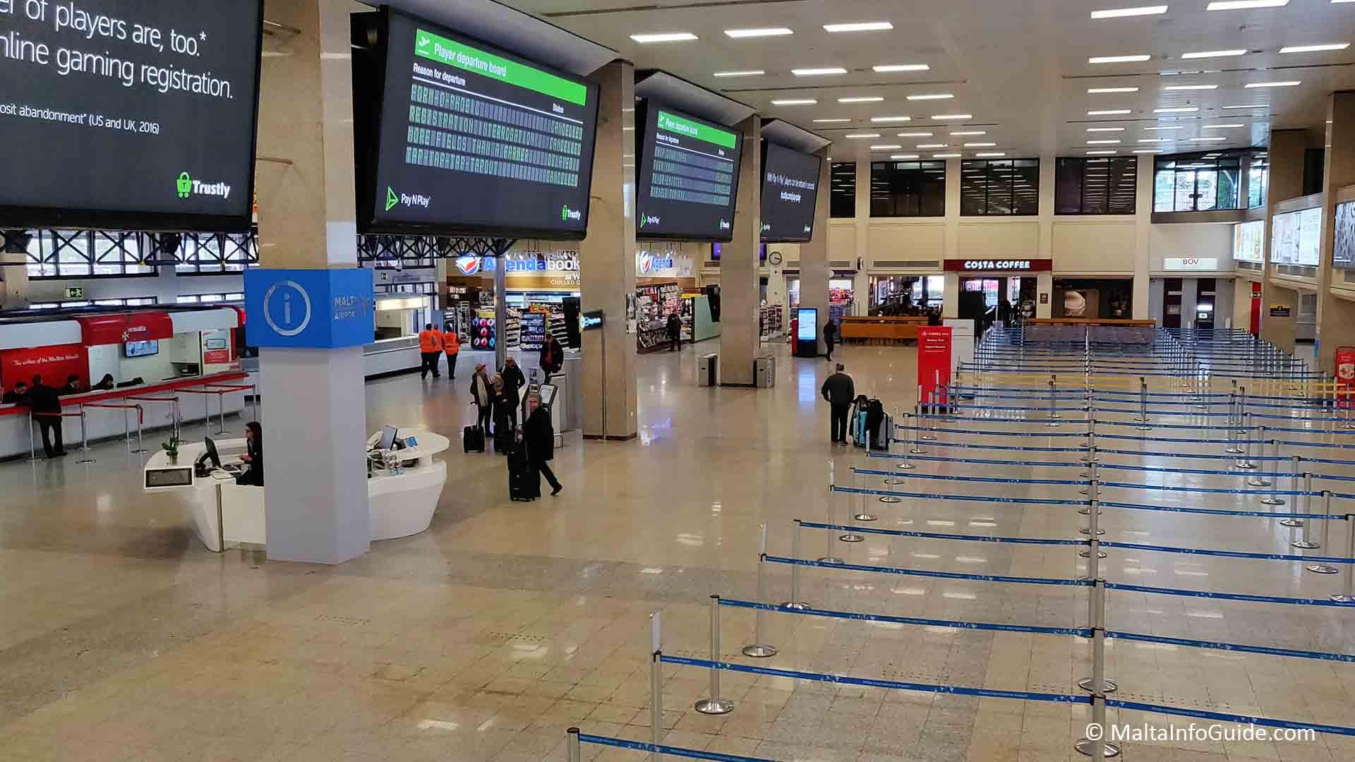 Malta's International Passenger Traffic Experiences Spiral Dive in 2020