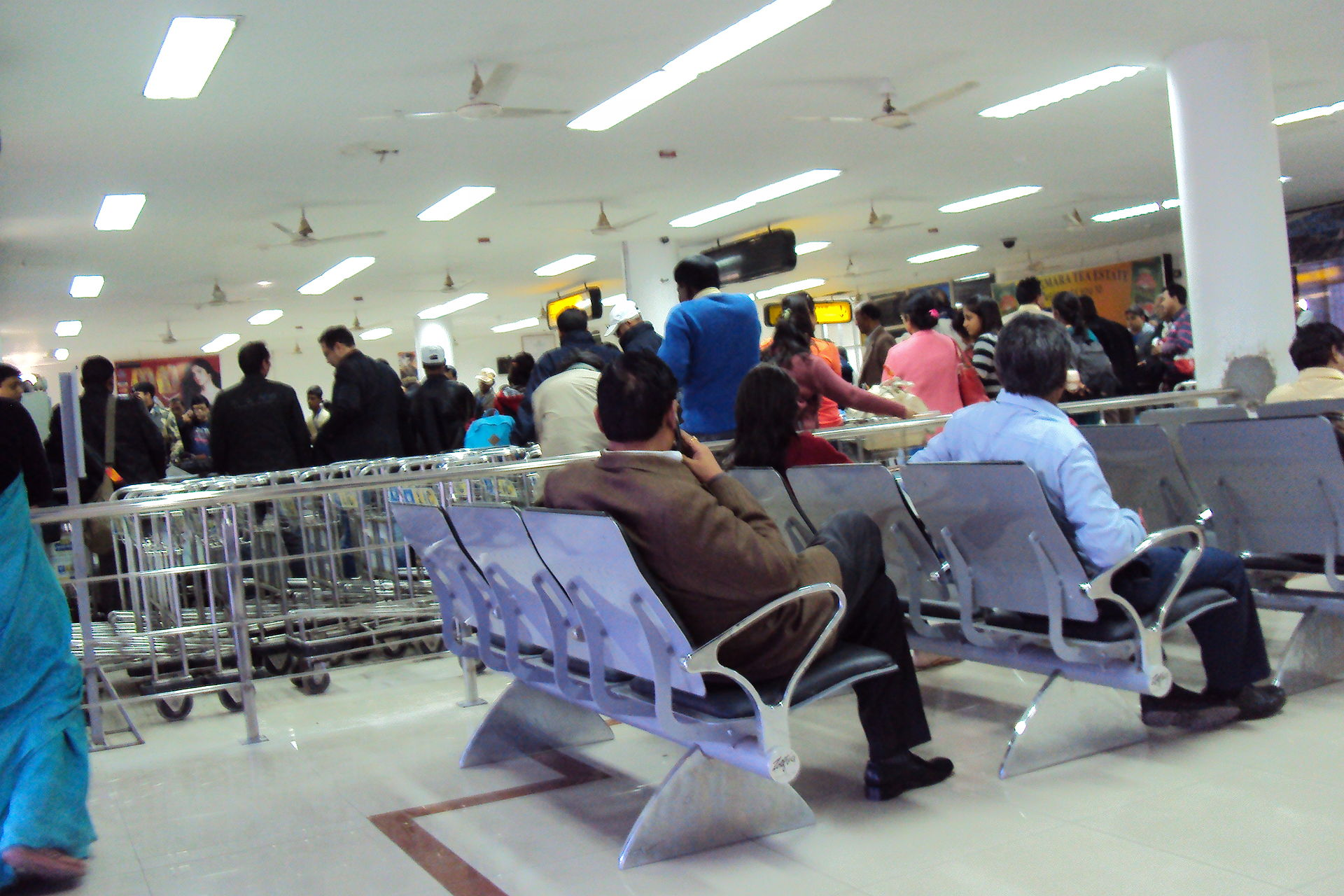 Airport Passengers Go Astray In Assam